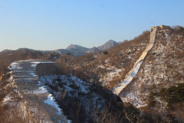 Longquanyu Great Wall to the Little West Lake, 2019/12/28 photo #1
