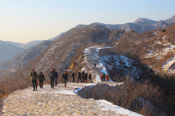 Longquanyu Great Wall to the Little West Lake, 2019/12/28 photo #2