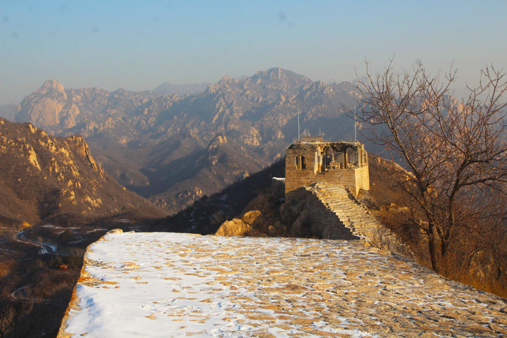 Longquanyu Great Wall to the Little West Lake, 2019/12/28 photo #3