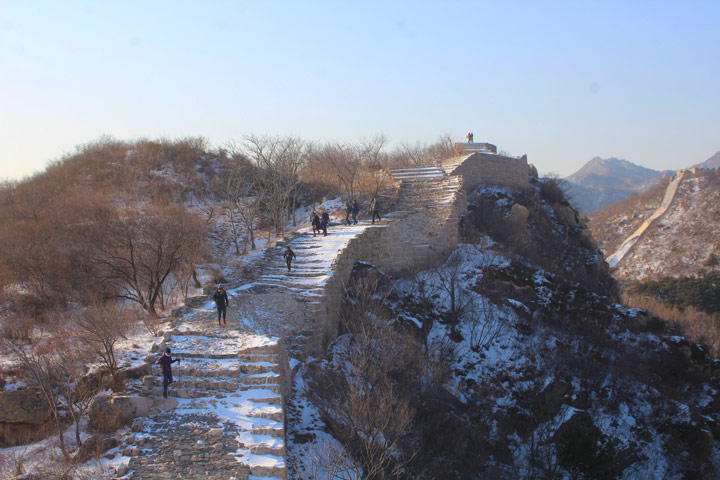 Longquanyu Great Wall to the Little West Lake, 2019/12/28 photo #5