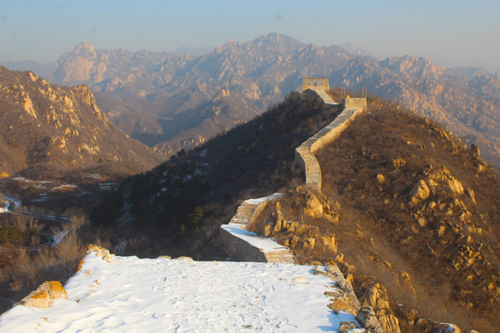 Longquanyu Great Wall to the Little West Lake, 2019/12/28 photo #6