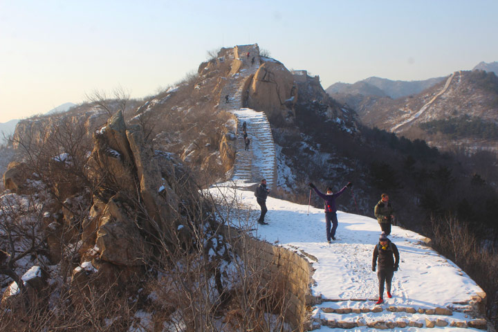 Longquanyu Great Wall to the Little West Lake, 2019/12/28 photo #7