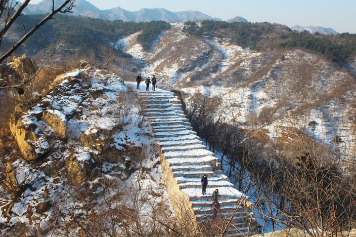 Longquanyu Great Wall to the Little West Lake, 2019/12/28 photo #8