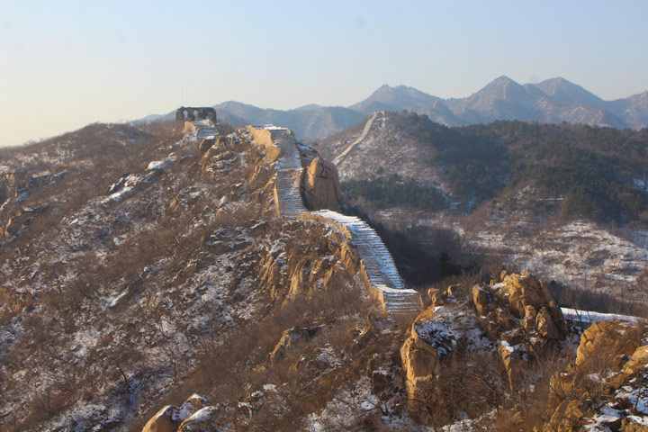 Longquanyu Great Wall to the Little West Lake, 2019/12/28 photo #9