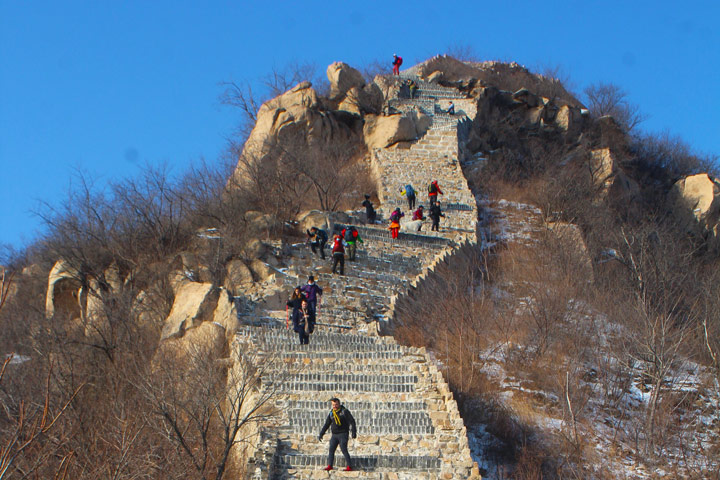 Longquanyu Great Wall to the Little West Lake, 2019/12/28 photo #10