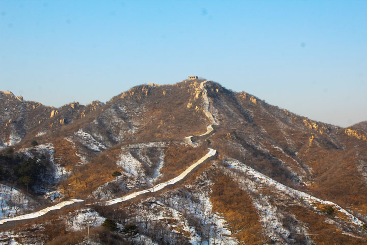 Longquanyu Great Wall to the Little West Lake, 2019/12/28 photo #11