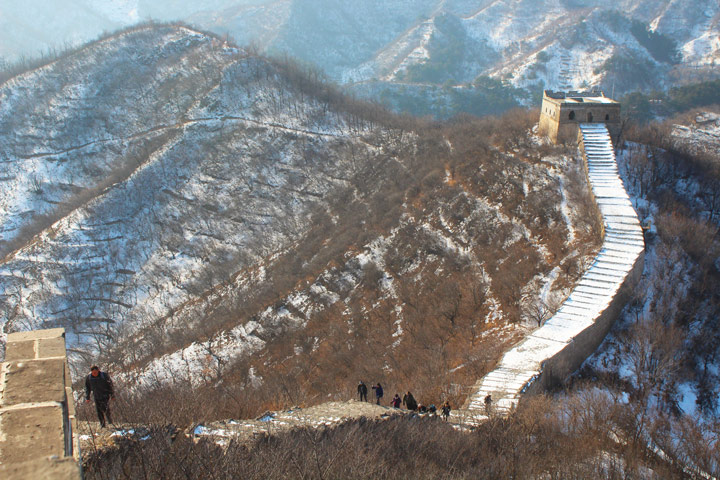 Longquanyu Great Wall to the Little West Lake, 2019/12/28 photo #12