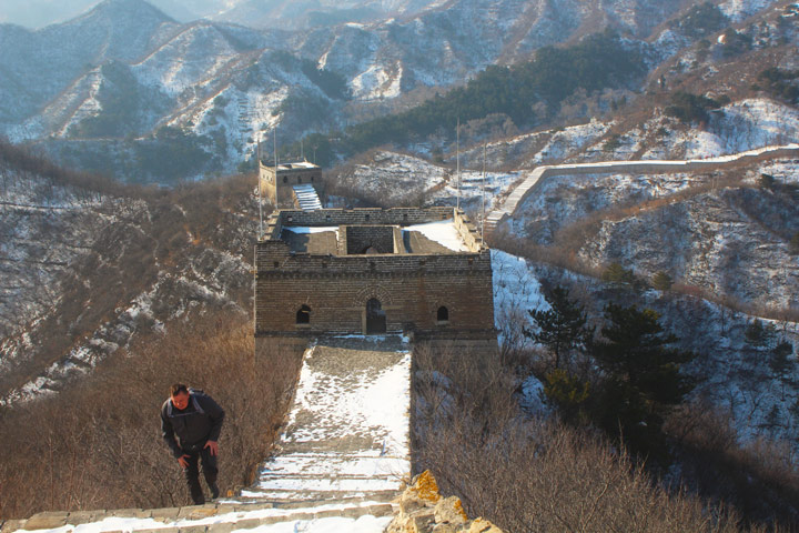 Longquanyu Great Wall to the Little West Lake, 2019/12/28 photo #14