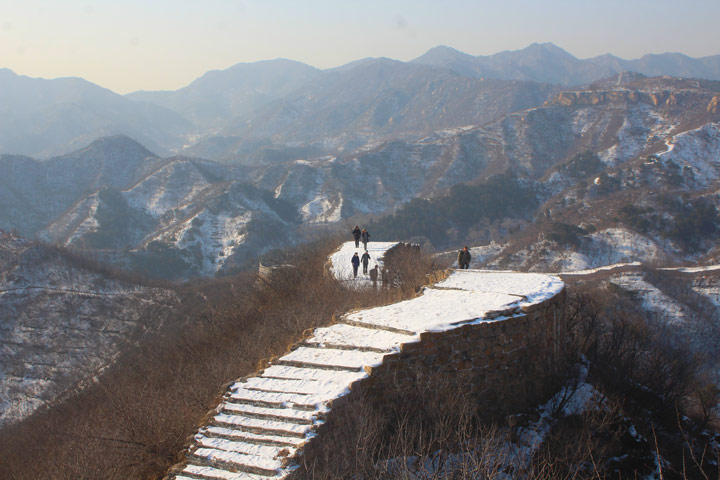 Longquanyu Great Wall to the Little West Lake, 2019/12/28 photo #15
