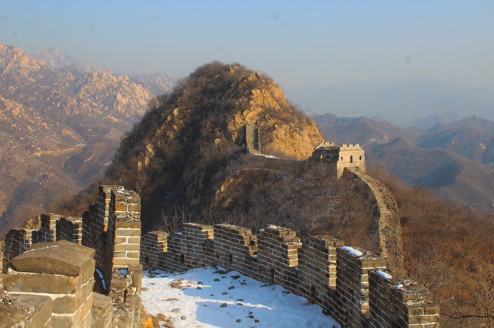 Longquanyu Great Wall to the Little West Lake, 2019/12/28 photo #16