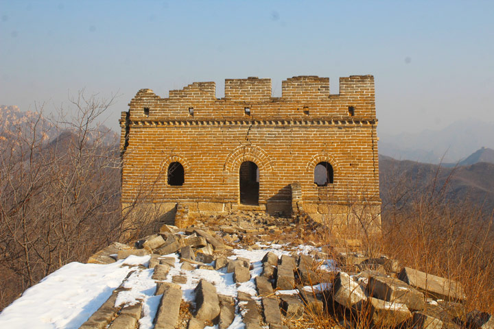 Longquanyu Great Wall to the Little West Lake, 2019/12/28 photo #17
