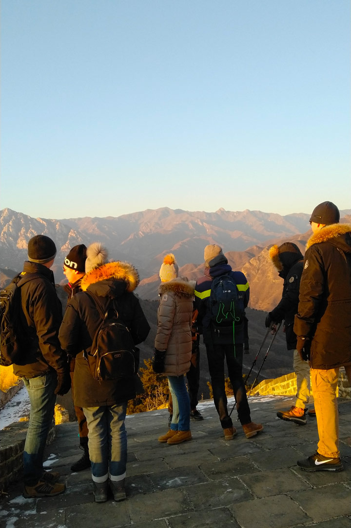 Sunset over the Huanghuacheng Great Wall, 2019/12/31 photo #14