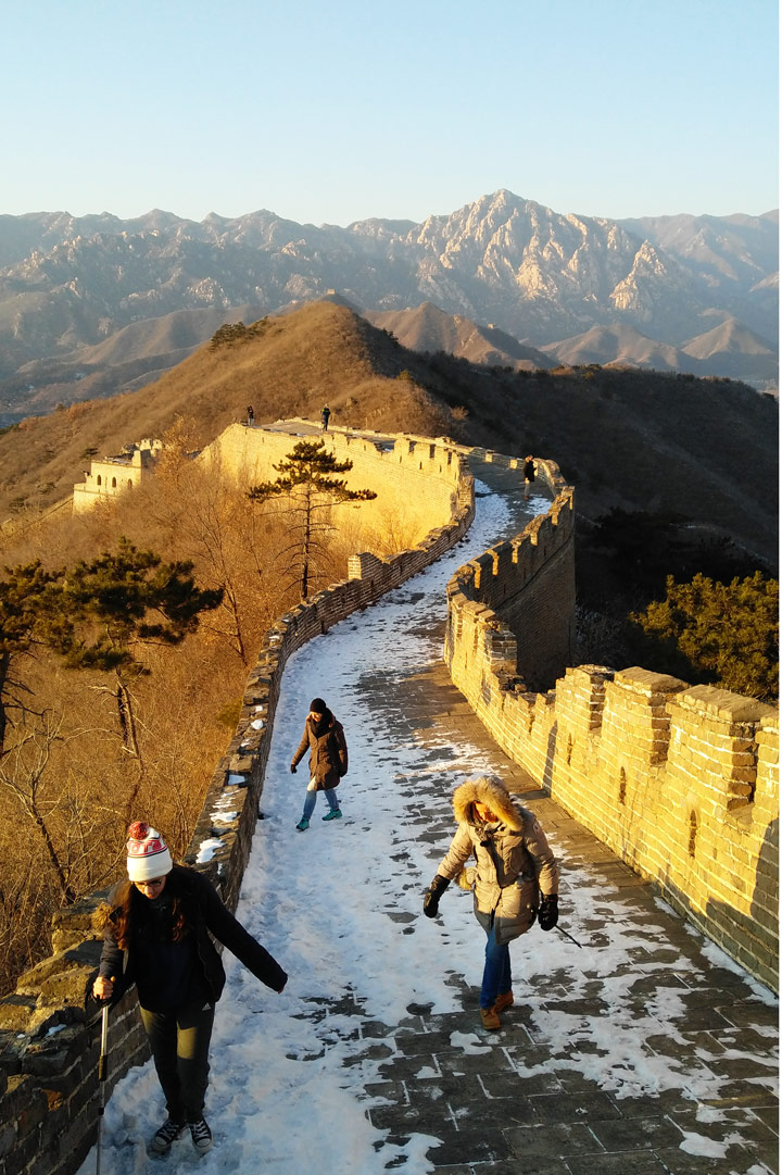 Sunset over the Huanghuacheng Great Wall, 2019/12/31 photo #16
