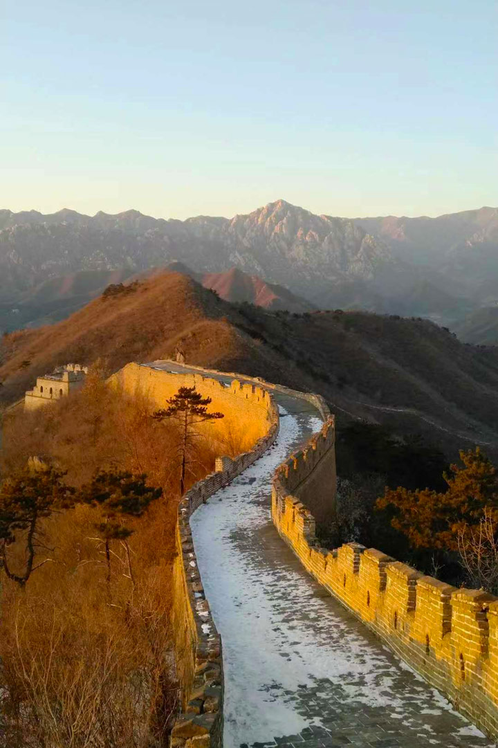 Sunset over the Huanghuacheng Great Wall, 2019/12/31 photo #17