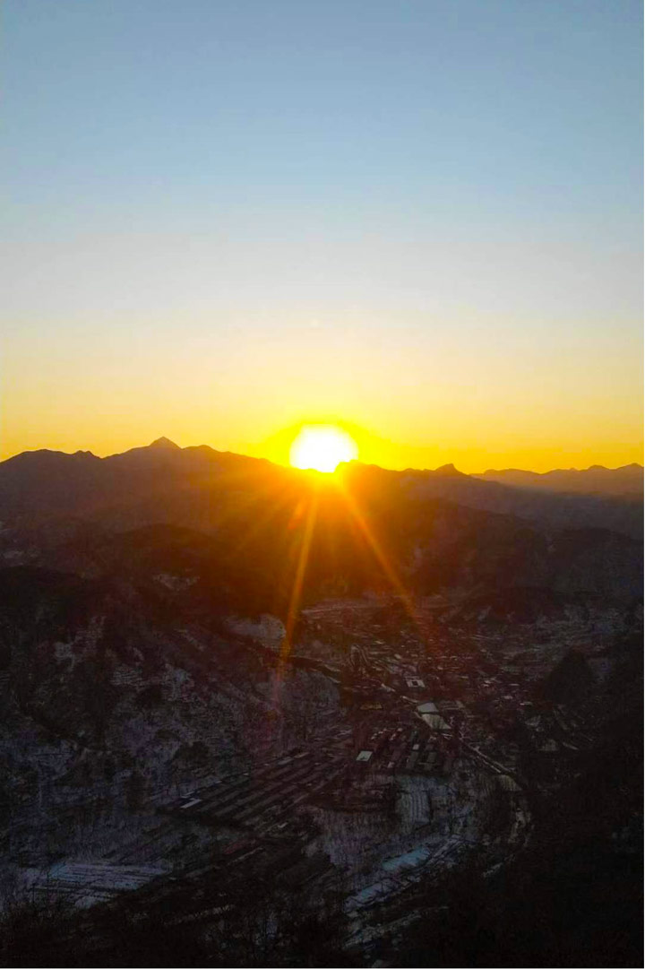 Sunset over the Huanghuacheng Great Wall, 2019/12/31 photo #20