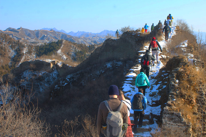 Gubeikou Great Wall Loop, 2020/01/01 photo #6