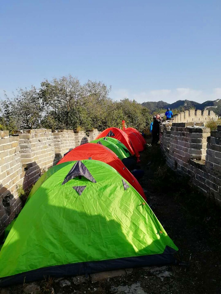 Stone Valley Great Wall camping, 2020/10/01 photo #3