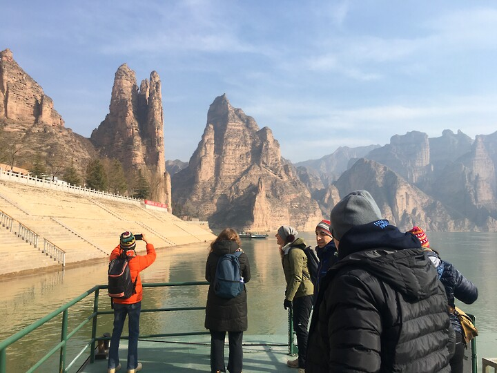 Lanzhou Danxia Landform, Yellow River Stone Forest, and Bingling Temple, Gansu Province, 2020/12 photo #7