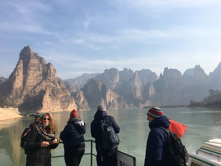 Lanzhou Danxia Landform, Yellow River Stone Forest, and Bingling Temple, Gansu Province, 2020/12 photo #8