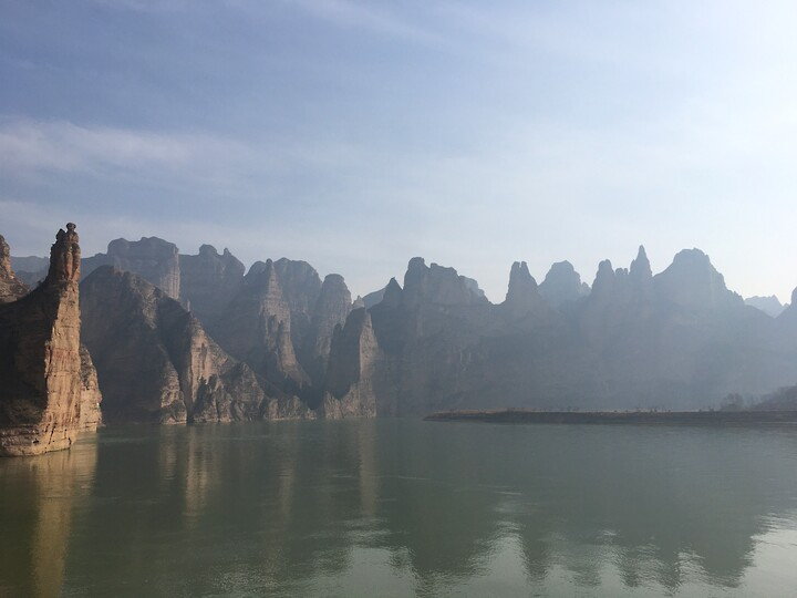 Lanzhou Danxia Landform, Yellow River Stone Forest, and Bingling Temple, Gansu Province, 2020/12 photo #9