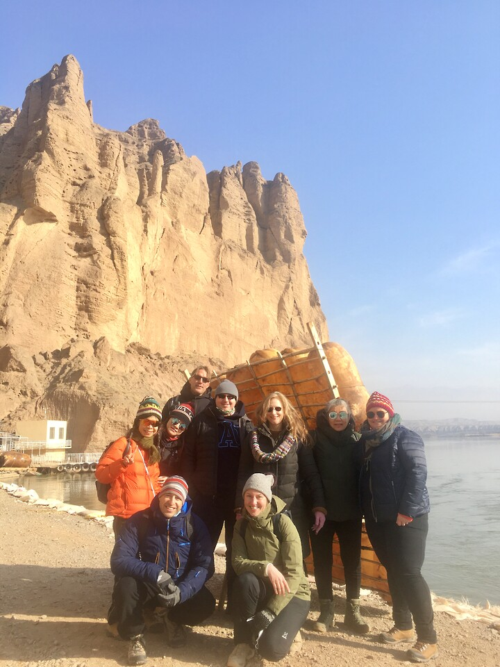 Lanzhou Danxia Landform, Yellow River Stone Forest, and Bingling Temple, Gansu Province, 2020/12 photo #12