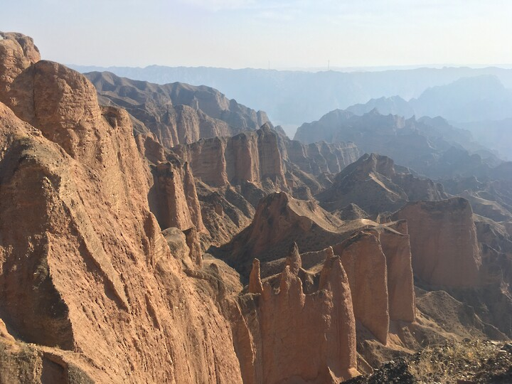 Lanzhou Danxia Landform, Yellow River Stone Forest, and Bingling Temple, Gansu Province, 2020/12 photo #17