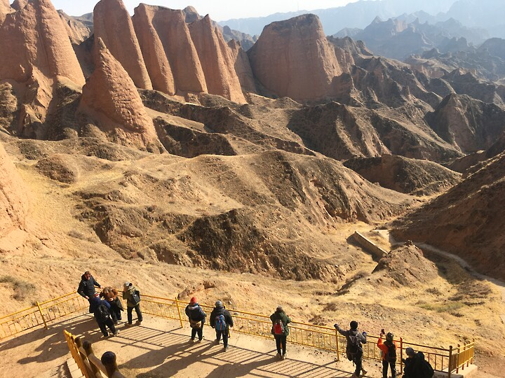 Lanzhou Danxia Landform, Yellow River Stone Forest, and Bingling Temple, Gansu Province, 2020/12 photo #19
