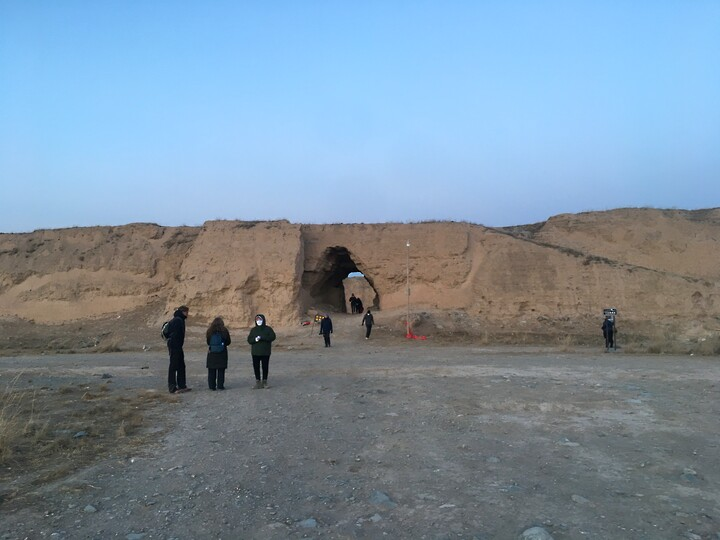 Lanzhou Danxia Landform, Yellow River Stone Forest, and Bingling Temple, Gansu Province, 2020/12 photo #25