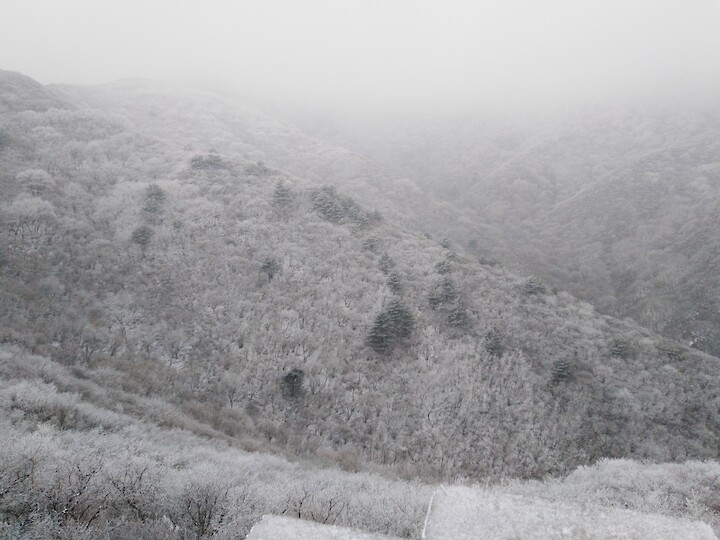 Snowy Badaling Ancient Great Wall, 2021/02/24 photo #9