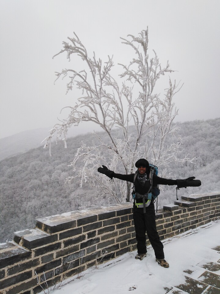 Snowy Badaling Ancient Great Wall, 2021/02/24 photo #10
