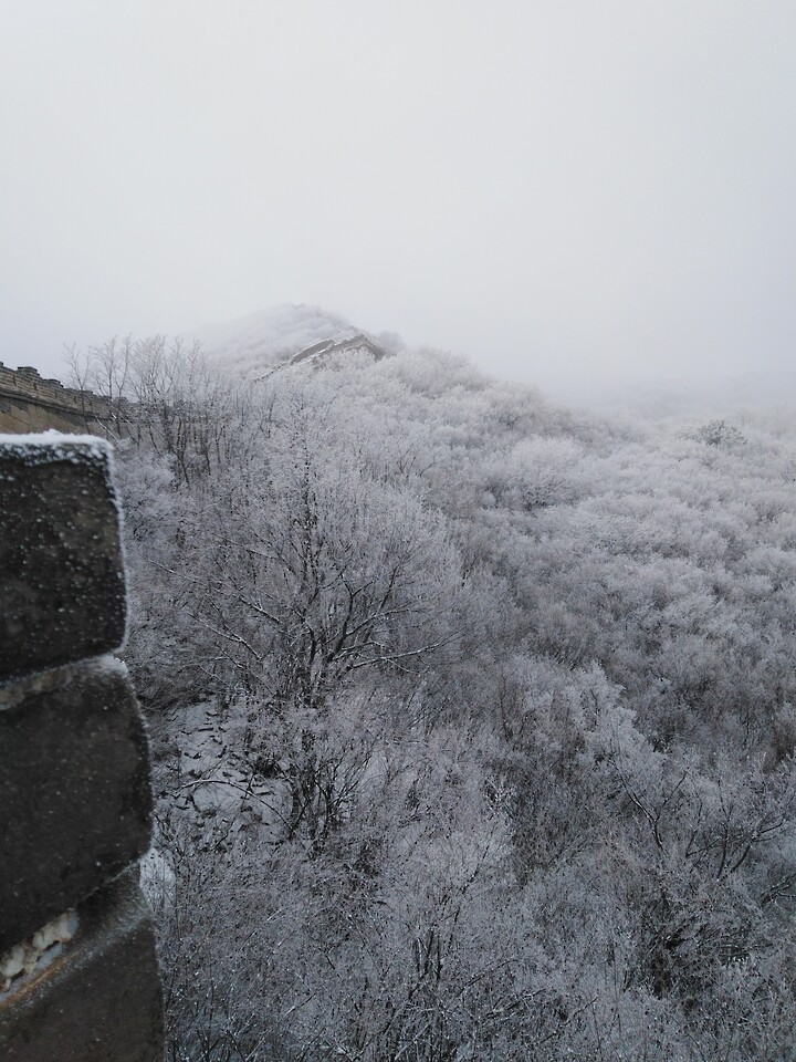 Snowy Badaling Ancient Great Wall, 2021/02/24 photo #14