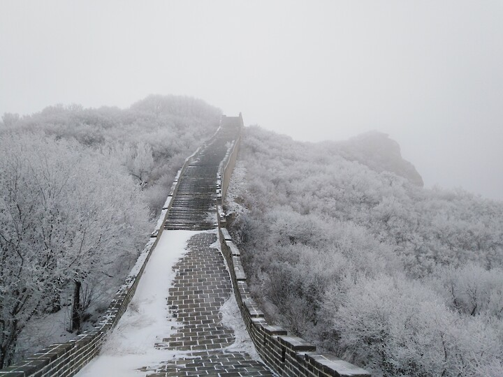 Snowy Badaling Ancient Great Wall, 2021/02/24 photo #23