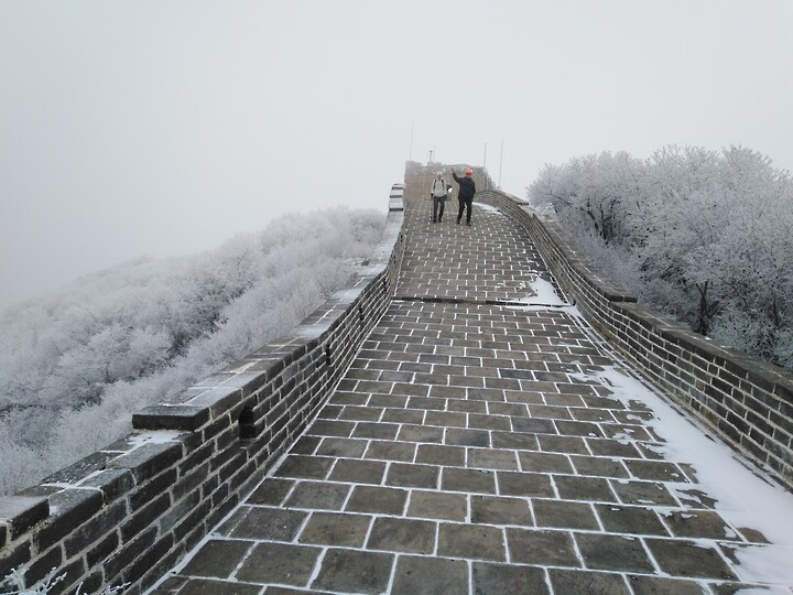 Snowy Badaling Ancient Great Wall, 2021/02/24 photo #24