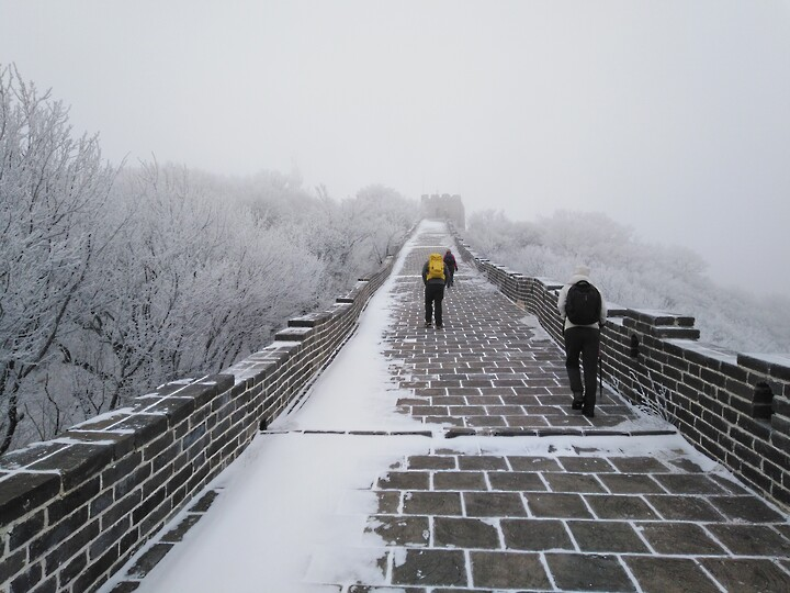 Snowy Badaling Ancient Great Wall, 2021/02/24 photo #25