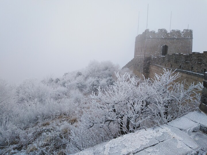 Snowy Badaling Ancient Great Wall, 2021/02/24 photo #26