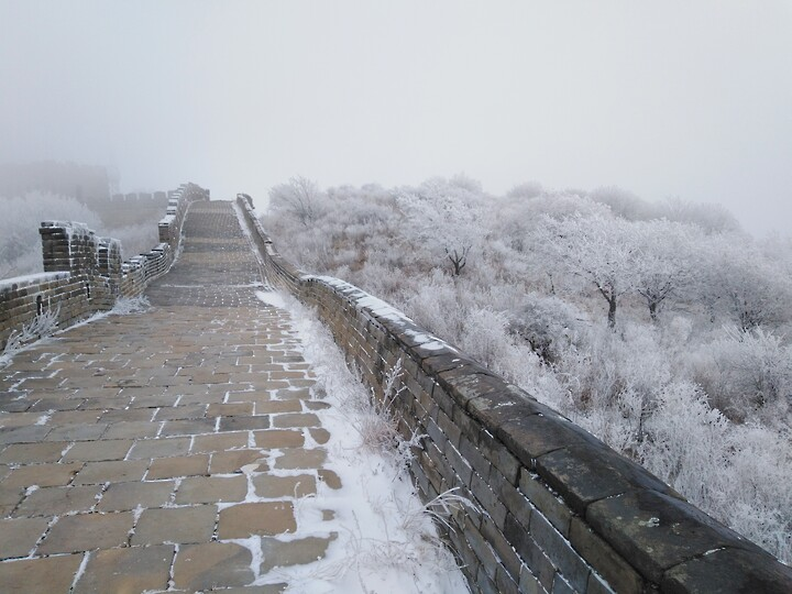 Snowy Badaling Ancient Great Wall, 2021/02/24 photo #29
