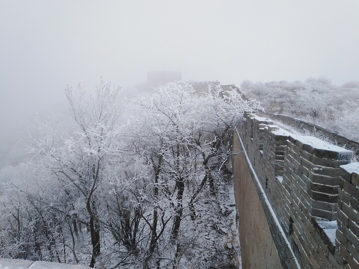 Snowy Badaling Ancient Great Wall, 2021/02/24 photo #30