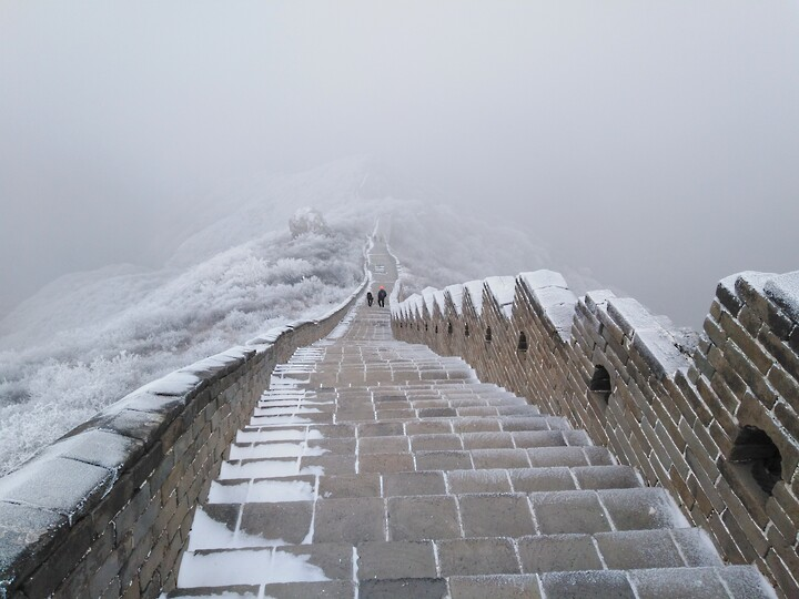 Snowy Badaling Ancient Great Wall, 2021/02/24 photo #31