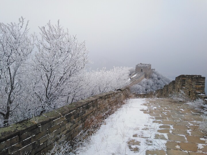 Snowy Badaling Ancient Great Wall, 2021/02/24 photo #32