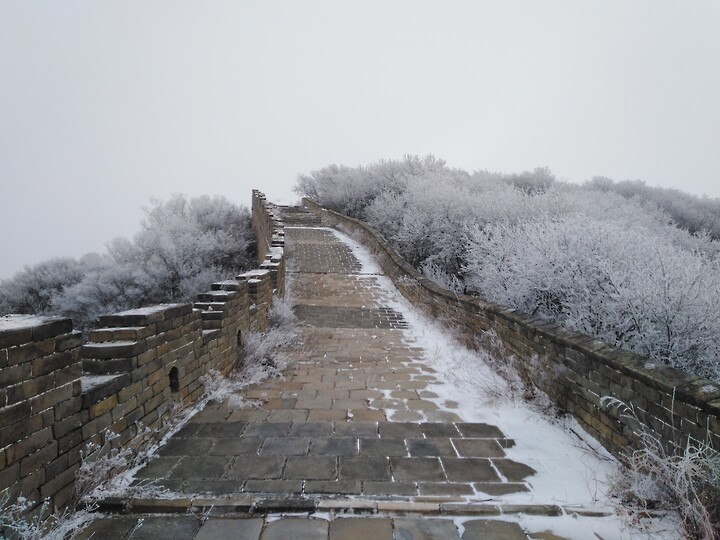 Snowy Badaling Ancient Great Wall, 2021/02/24 photo #33
