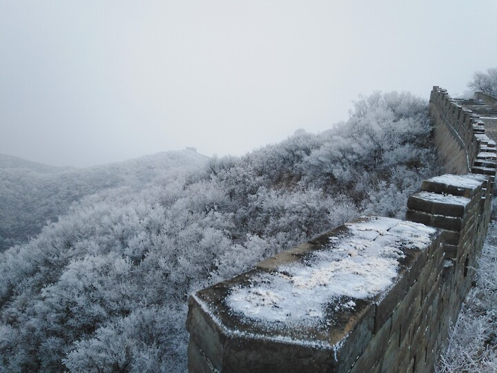 Snowy Badaling Ancient Great Wall, 2021/02/24 photo #34