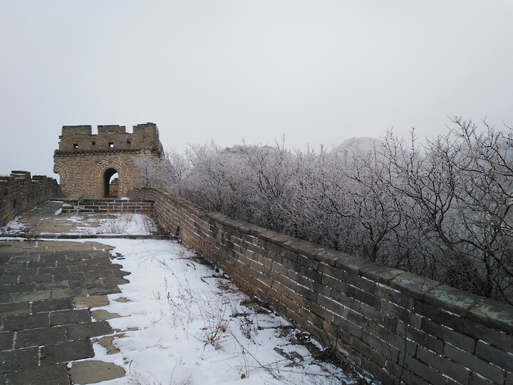 Snowy Badaling Ancient Great Wall, 2021/02/24 photo #37