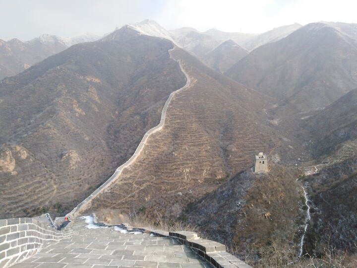 Snowy Badaling Ancient Great Wall, 2021/02/24 photo #43