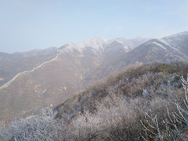 Snowy Badaling Ancient Great Wall, 2021/02/24 photo #47