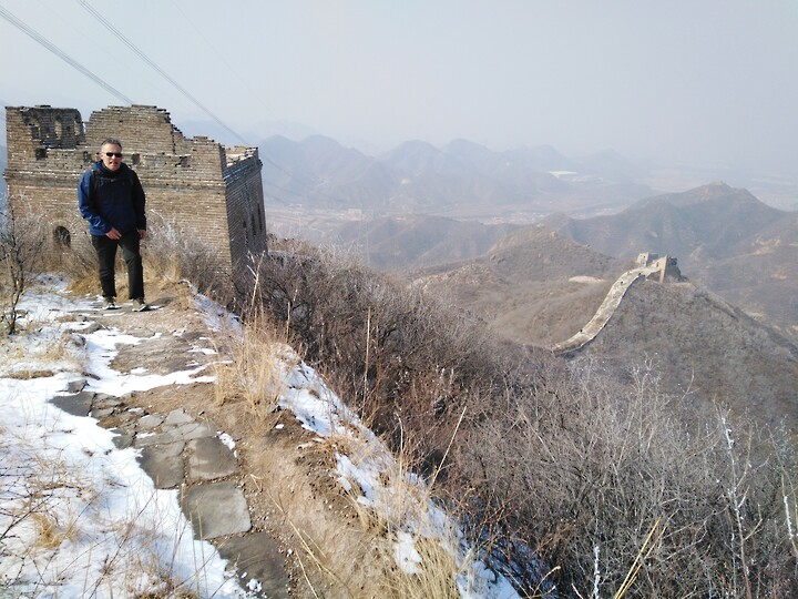 Snowy Badaling Ancient Great Wall, 2021/02/24 photo #48