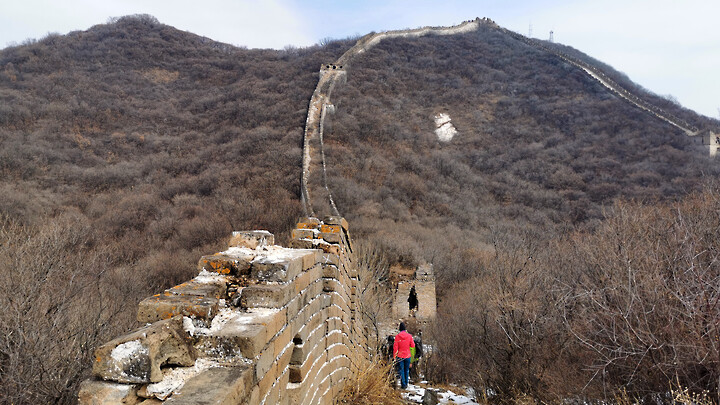 Jiankou to Mutianyu Great Wall, 2021/02/27