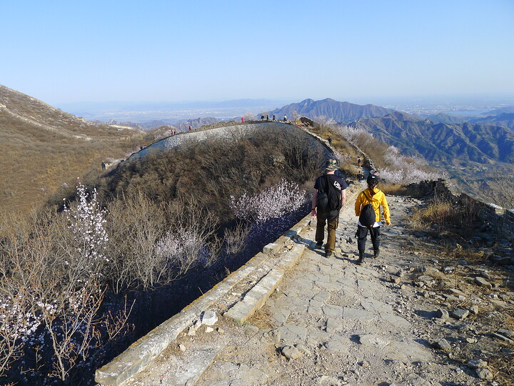 Jiankou Great Wall to Beigou Village sundown hike, 2021/04/04 photo #7