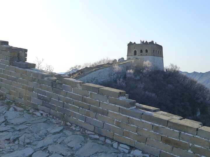 Jiankou Great Wall to Beigou Village sundown hike, 2021/04/04 photo #10