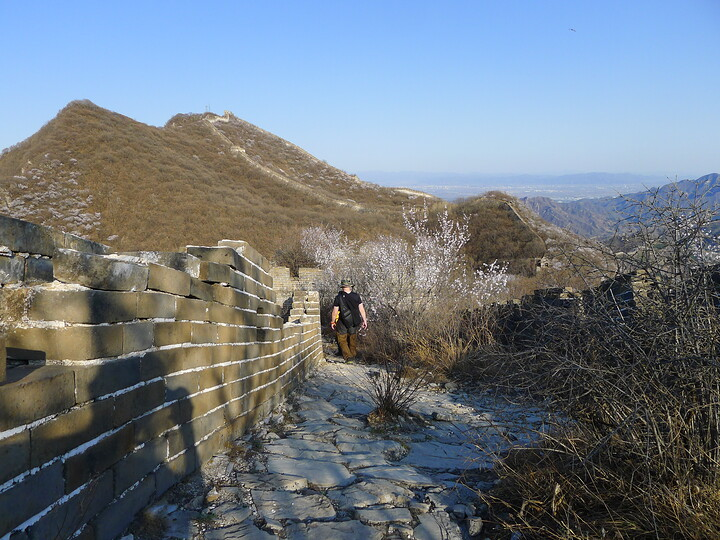 Jiankou Great Wall to Beigou Village sundown hike, 2021/04/04 photo #11