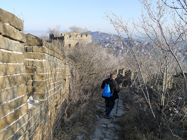 Jiankou Great Wall to Beigou Village sundown hike, 2021/04/04 photo #12
